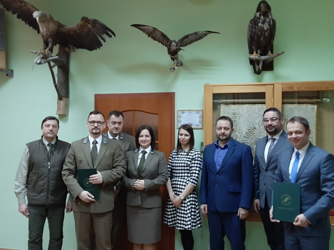 Ilustracja do informacji: Nawiązano współpracę z Nadleśnictwem Bolewice