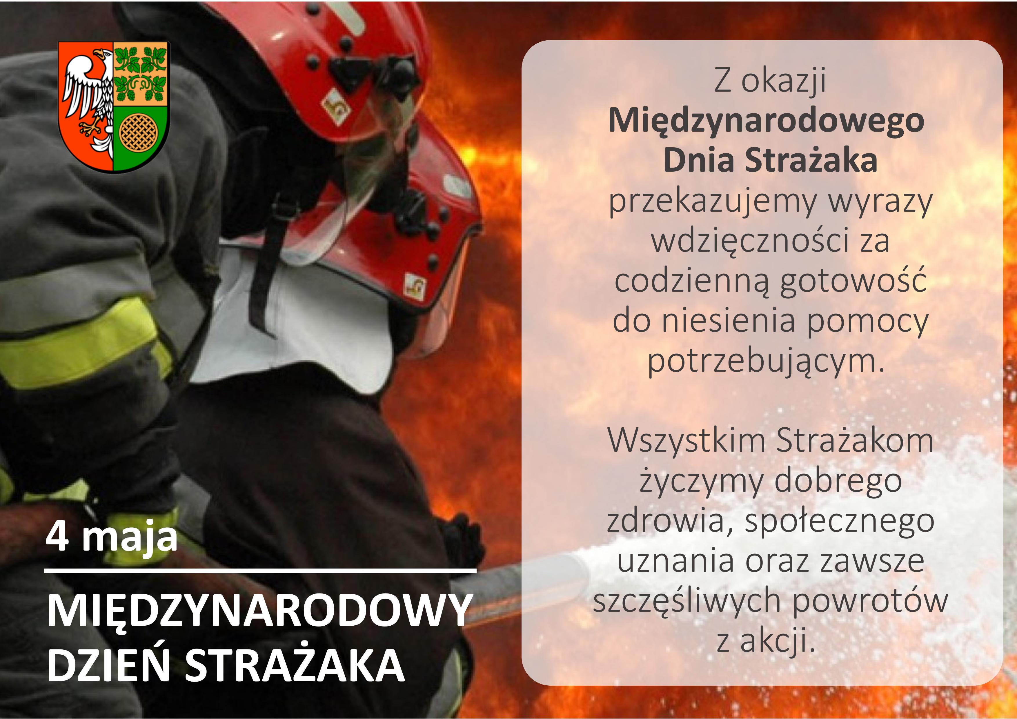 Ilustracja do informacji: Międzynarodowy Dzień Strażaka
