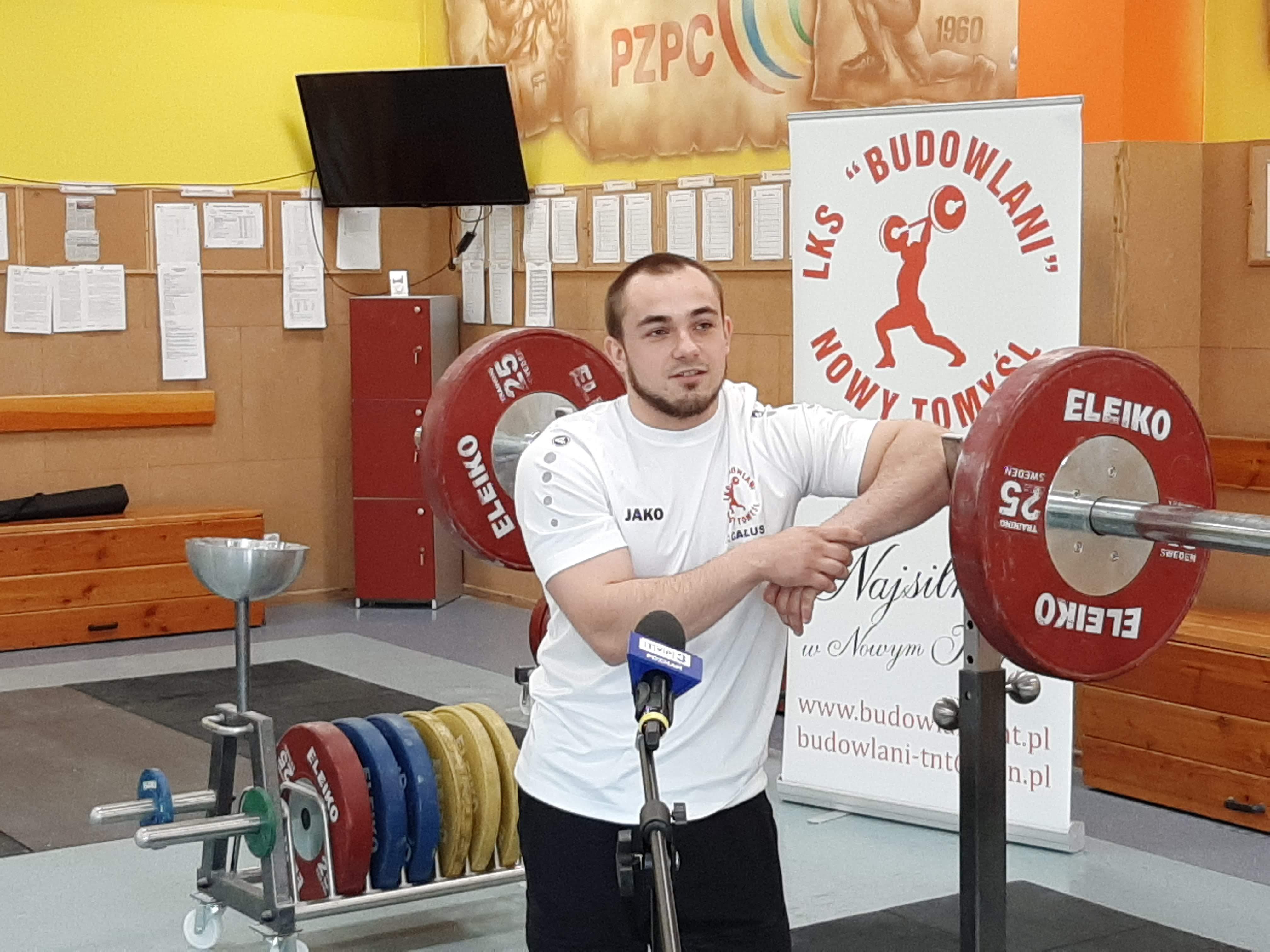Ilustracja do informacji: Piotr Kudłaszyk wystartuje w kwalifikacjach do Igrzysk Olimpijskich w Tokio