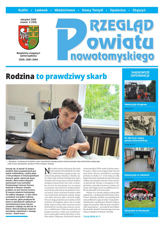 Ilustracja do informacji: Przegląd Powiatu Nowotomyskiego