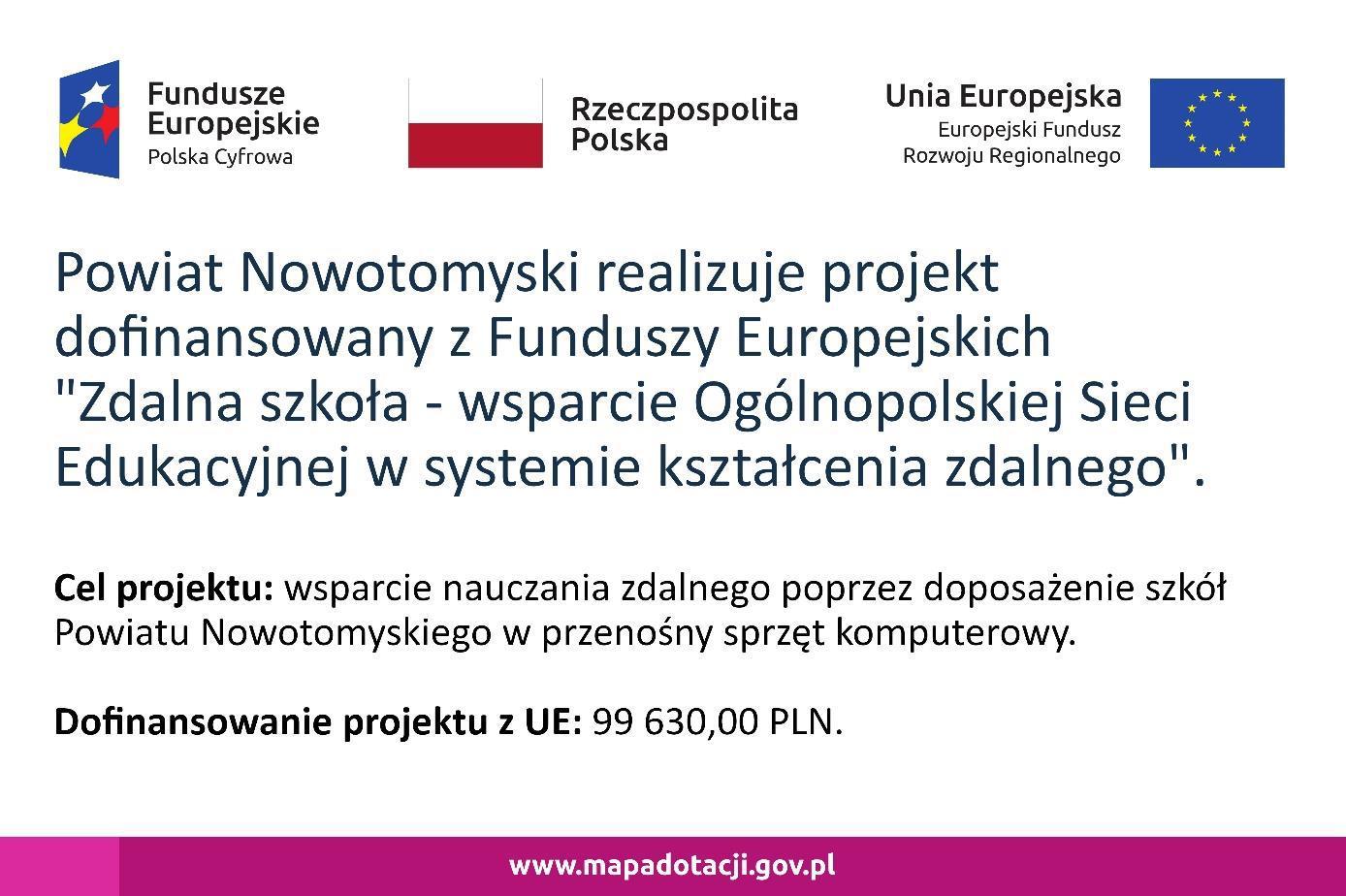 Ilustracja do informacji: Zdalna Szkoła – wsparcie Ogólnopolskiej Sieci Edukacyjnej w systemie kształcenia zdalnego