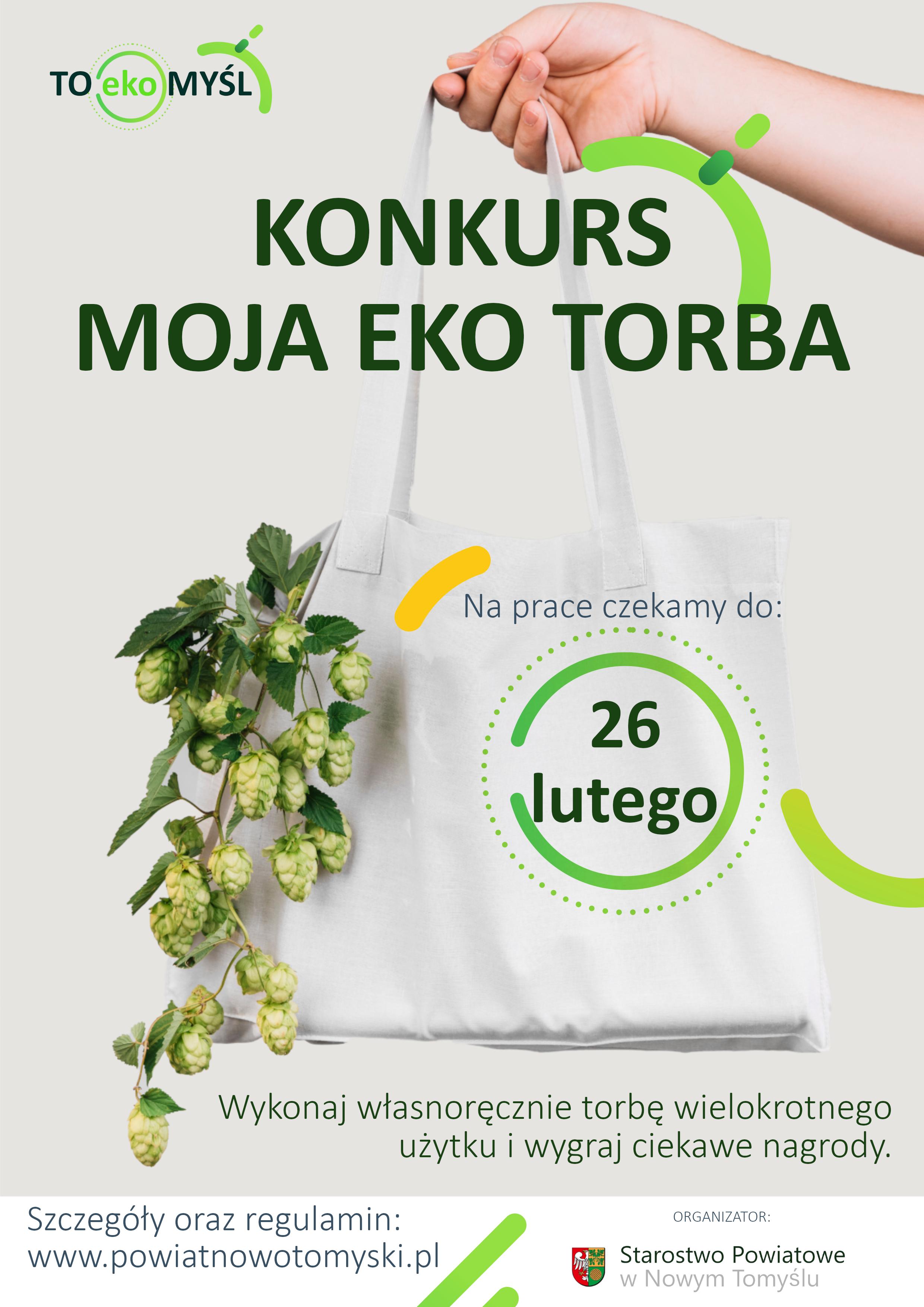 Ilustracja do informacji: Uwaga konkurs - Moja Eko Torba