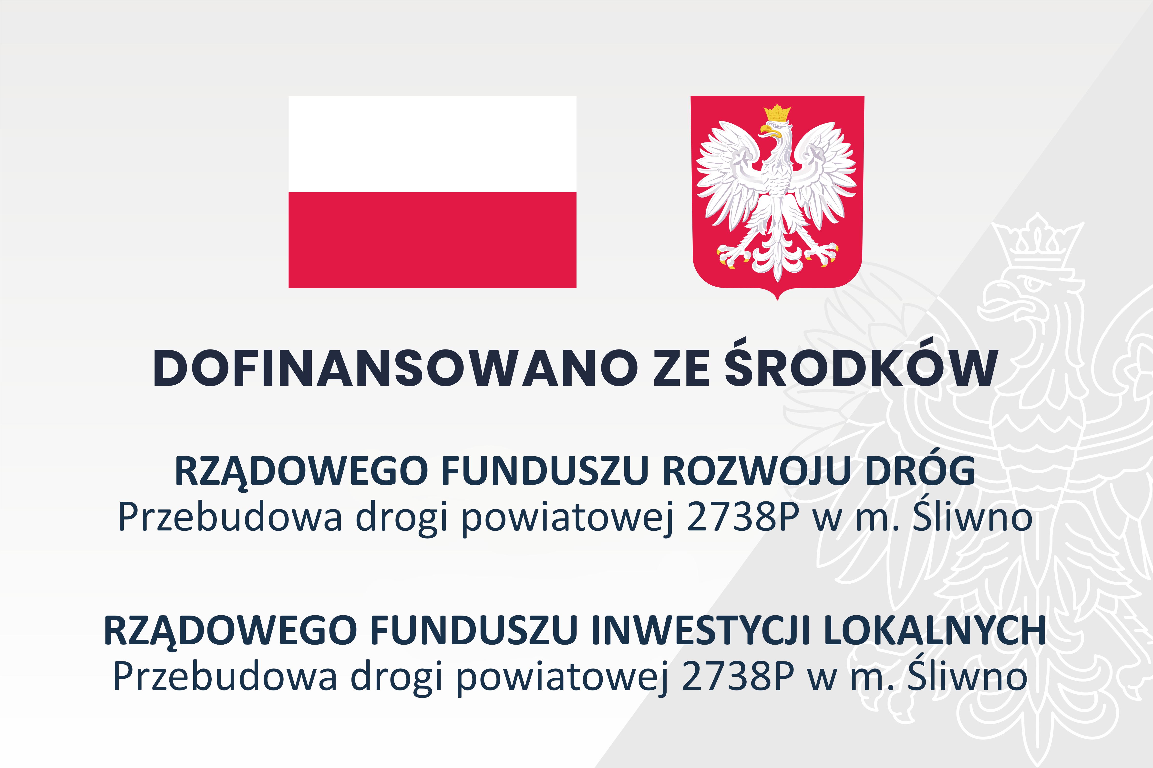 Ilustracja do informacji: Przebudowa drogi powiatowej 2738P w m. Śliwno